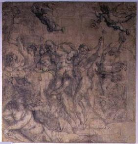 Triumph of Bacchus (pencil)