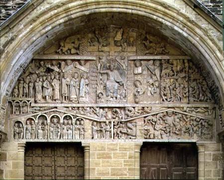 The Last Judgement West Portal Tympanum French School