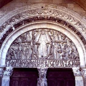The Last Judgement, tympanum from the west portal