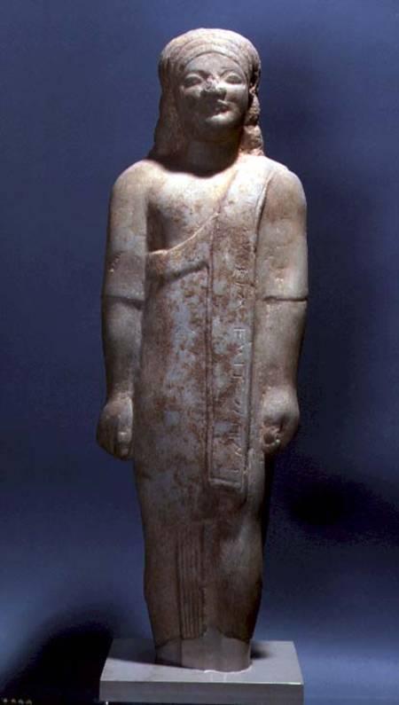 Kouros Dionysermos Greek Archaic Period Anonymous As