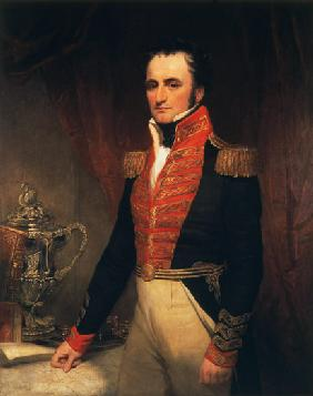 Portrait of Admiral Sir James Stirling (1791-1865), first Governor of Western Australia 1829-39
