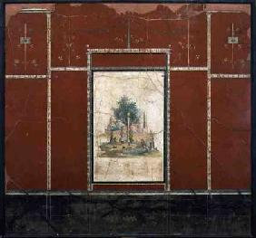 Rustic Landscapefrom the Red room in the Villa of Agrippa Postumus at Boscotrecase