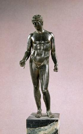 Statue of Mercury, adaptation of the Greek Discophoros of Polyclitus,Roman 25-50 AD