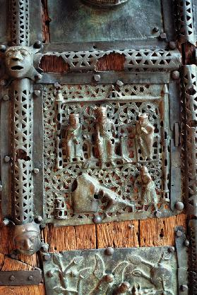 Panel from the right hand door of the portal