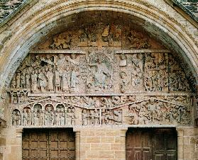 The Last Judgement, west portal tympanum
