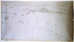 Greenwich, from 'The Panorama of London'