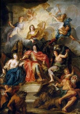 The glorification of Louis XIV