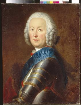Count Jerzy Detloff Fleming (1699-1771), Artillery General, Grand Treasurer of Lithuania, and voivod