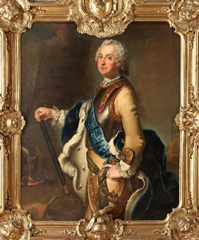 Portrait of Adolph Frederick (1710-1771), Crown Prince of Sweden