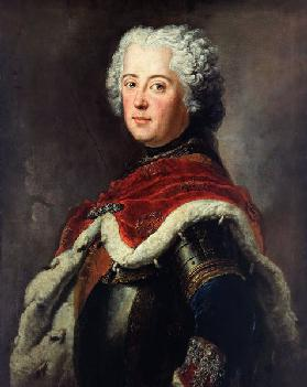 Portrait of Frederick II of Prussia (1712–1786) as Crown Prince
