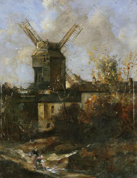 The Moulin de la Galette, Montmartre