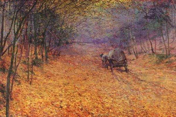 Slavicek, Antonin : In the autumn fog