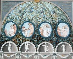 Design for a Ceiling Fresco