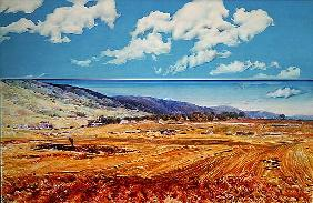 Gargano, 1980 (acrylic on canvas)