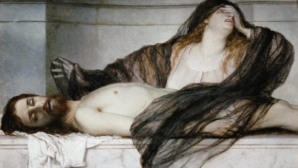 Mourn for Maria Magdalena at the corpse Christi