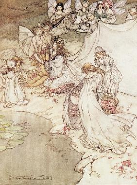 Rackham, Arthur : Illustration for a Fairy T...