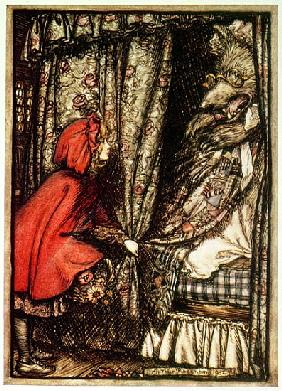 Rackham, Arthur : Little Red Riding Hood