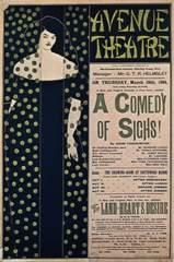 Poster for the comedy A Comedy of Sighs