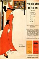 Advertising poster for The Yellow Book