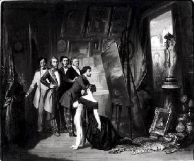 Interior of the Studio of Alfred Bruyas (1821-77) in Montpellier