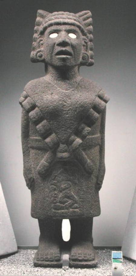 Teteoinnan Toci Aztec As Art Print Or Hand Painted Oil
