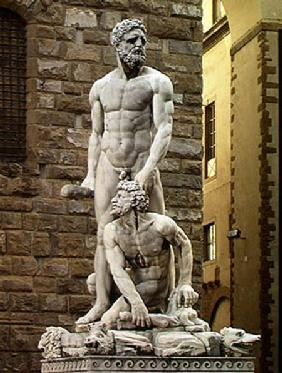 Statue of Hercules and Cacus