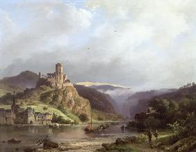 Koekkoek, Barend Cornelisz. : Beilstein on the Moselle