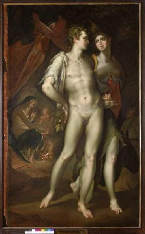 Bacchus and Ceres leave Venus.
