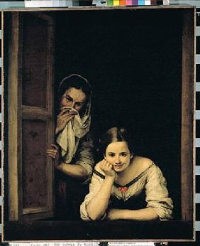 Women from Galicia at the Window