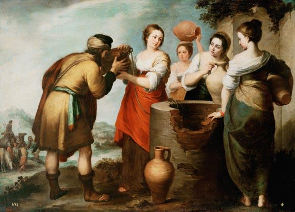 Rebecca and Eliezer at the Well