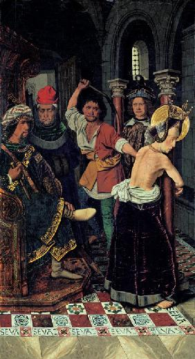 The Flagellation of Saint Engratia
