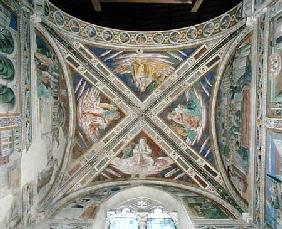 Episodes from the Life of St. Augustine, from the choir ceiling