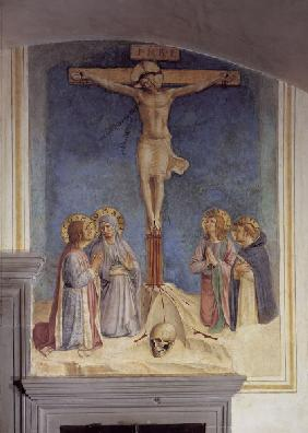 Crucifixion w.Saints