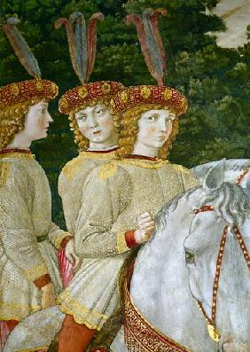 Maria (b.1460), Bianca (1461-88) and Nannina (1463-93) Medici, younger sisters of Lorenzo (1449-92)