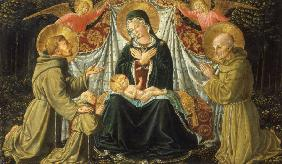 Madonna & Child w.Saints