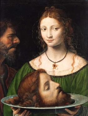 Luini, Bernardino : Salome with the head Johan...