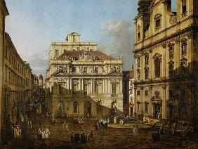 Bellotto, Bernardo : University square in Vienn...