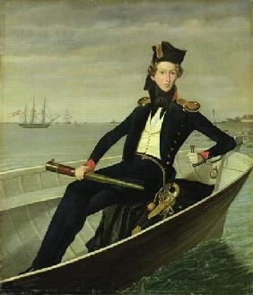 Portrait of a Young Danish Naval Officer