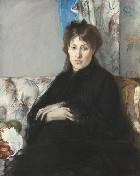 Portrait of Madame Edma Pontillon, née Morisot