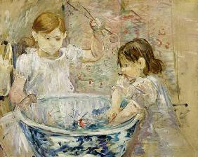 Children at the Basin