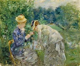 Morisot, Berthe : In the Bois de Boulogne