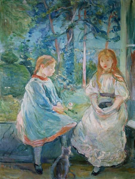 Young Girls at the Window