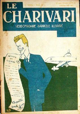 Colonel Charles Lindbergh (1902-74) and the French First World War Debts to America, cover of Chariv
