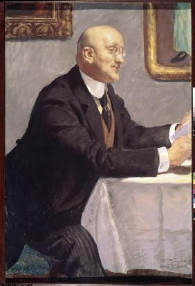 Portrait of the artist Igor Grabar (1871-1960)