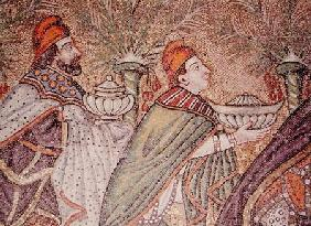 Port of Classis, detail of two Magi