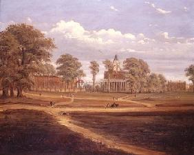 View across Clapham Common towards North Side and The Pavement, 1878 (oil on canvas)