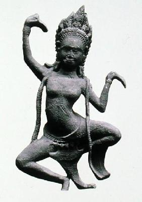 A Dancing Apsaras, detail from a frieze