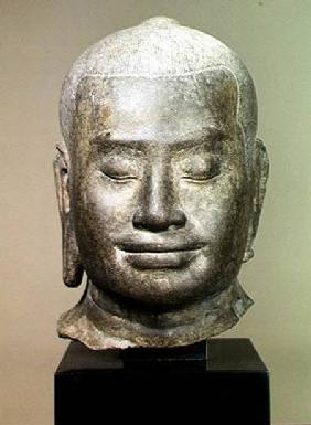 Head of King Jayavarman VII (r.1181-c.1220)