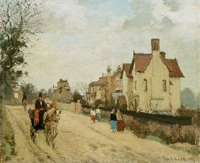 Pissarro, Camille : Street in Upper Norwood.