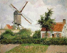 Windmill in Knocke (Belgium)